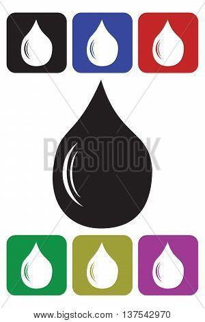 Water Drop Icon drinking water drop computer icon symbol design