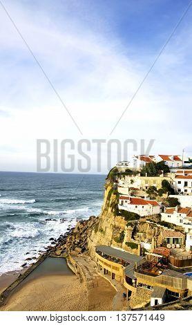 village of Azenhas Do Mar Sintra Portugal