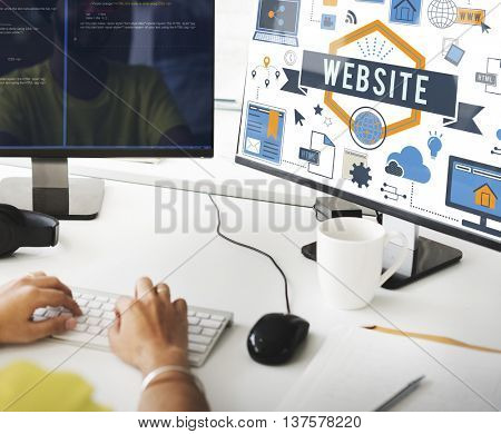 Website Www Connection Internet Online Concept