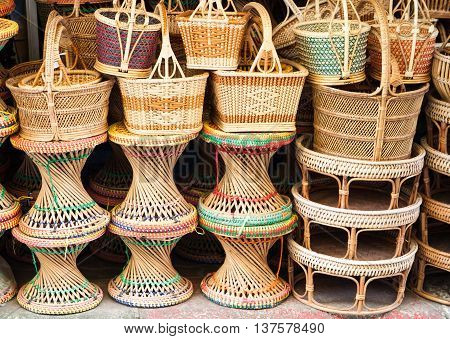 Basketry Is Thai Handmade