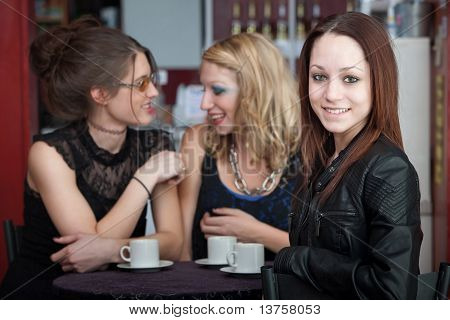 Friends In Coffee House