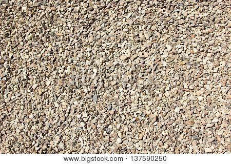 Background Of Gravel Rubble Fractions 5-20