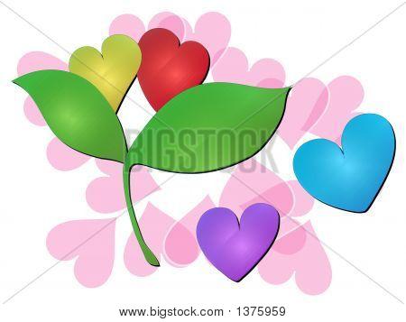 Hearts Art 9