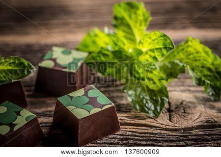 Chocolate Praline Candy