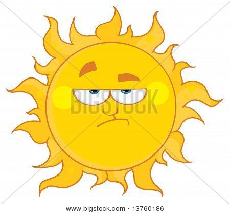 Grumpy Sun
