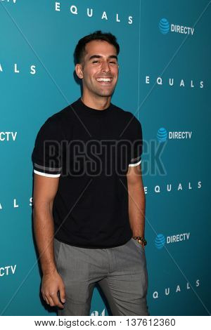 LOS ANGELES - JUL 7:  Daniel Fernandez at the Equals LA Premiere at the ArcLight Hollywood on July 7, 2016 in Los Angeles, CA