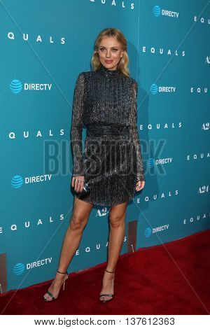 LOS ANGELES - JUL 7:  Bar Paly at the Equals LA Premiere at the ArcLight Hollywood on July 7, 2016 in Los Angeles, CA