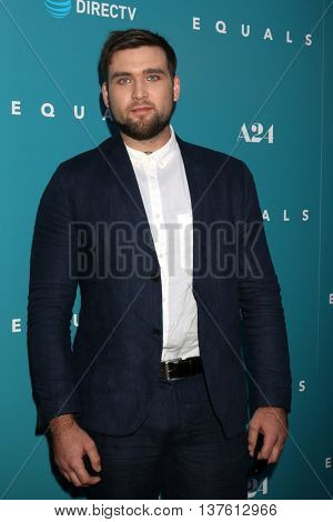 LOS ANGELES - JUL 7:  Weston Cage at the Equals LA Premiere at the ArcLight Hollywood on July 7, 2016 in Los Angeles, CA