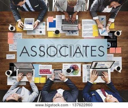 Business Associates Meeting Conference Planning Concept