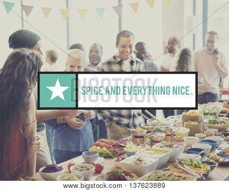 Spice Cuisine Flavor Herb Taste Ingredient Food Concept