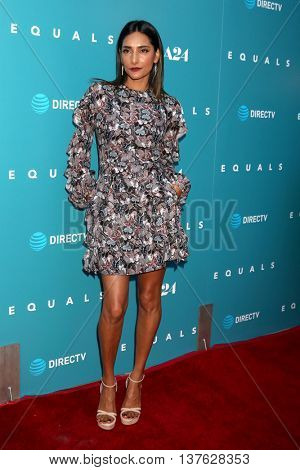 LOS ANGELES - JUL 7:  Rebecca Hazlewood at the Equals LA Premiere at the ArcLight Hollywood on July 7, 2016 in Los Angeles, CA