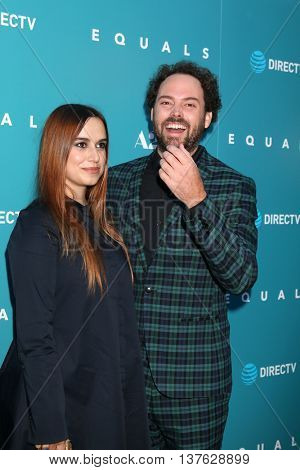 LOS ANGELES - JUL 7:  Alana Morshead, Drake Doremus at the Equals LA Premiere at the ArcLight Hollywood on July 7, 2016 in Los Angeles, CA