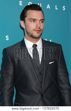LOS ANGELES - JUL 7:  Nicholas Hoult at the Equals LA Premiere at the ArcLight Hollywood on July 7, 2016 in Los Angeles, CA