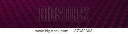 3D Magenta Cubes Website Head