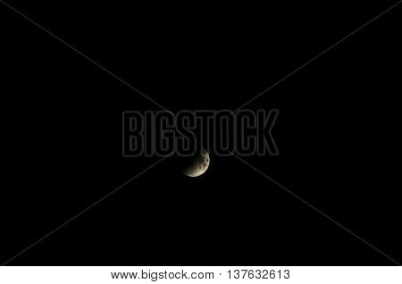 Moon During Eclipse