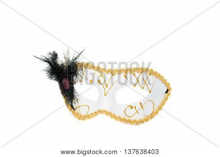costume Masquerade mask on a white background