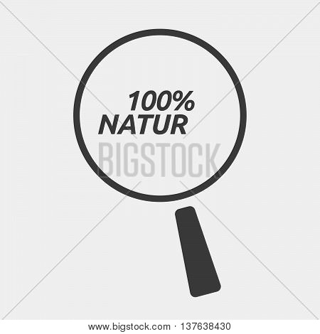 Isolated Magnifying Glass Icon Focusing    The Text Co2