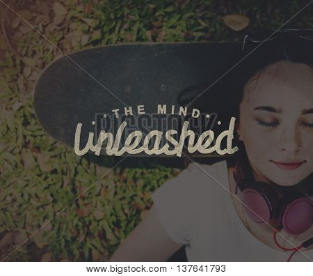 The Mind Unleashed Thoughts Vision Creativity Ideas Concept