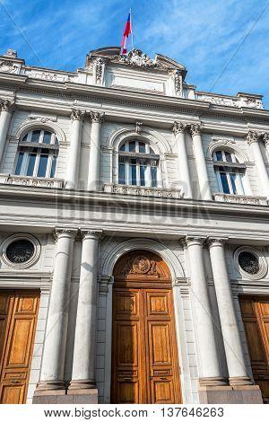 Historic Architecture In Santiago, Chile