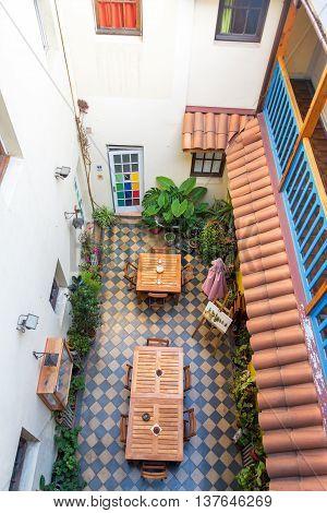 Interior Courtyard View