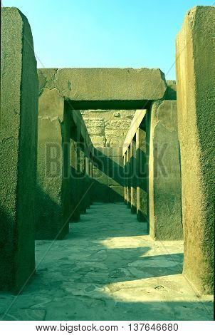 Pic in Valley Temple of Khafre, EGYPT