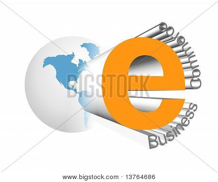 E-business icon