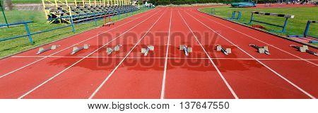 Athletics Starting Blocks.