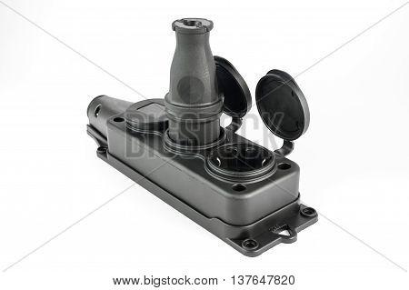 Electrical Triple Socket With Plug