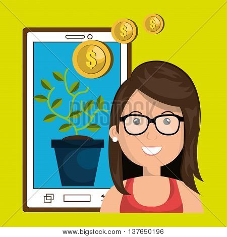 funding concept design, vector illustration eps10 graphic