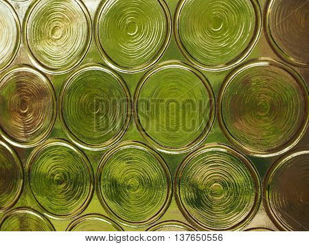 Decorated Glass Background