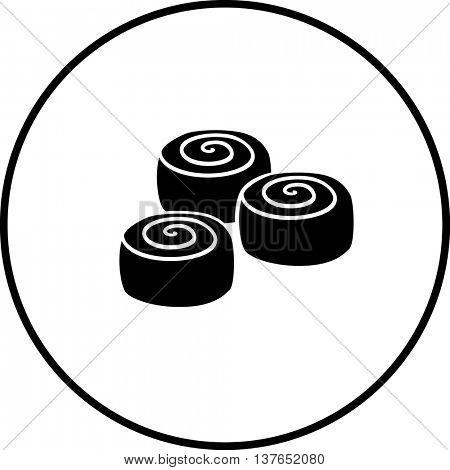 cinnamon rolls symbol