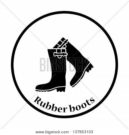 Hunter's Rubber Boots Icon