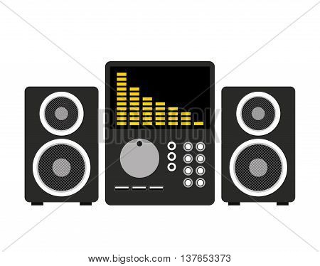 professional stereo isolated icon design, vector illustration  graphic