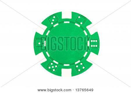 Grenn Poker Chip