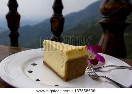 Afternoon tea at a mountain coffee house in southern Taiwan