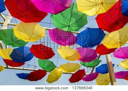 Reversely Swinging Umbrellas