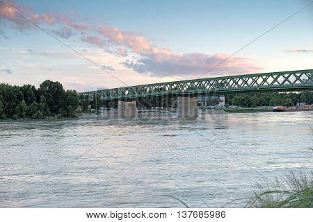 Embankment of the Danube in Bratislava 1