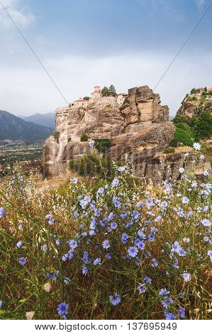 The Sacred Monastery of Varlaam at the complex of Meteora monasteries, Greece