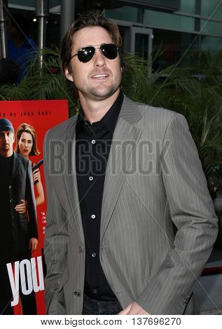 Luke Wilson at the Los Angeles premiere of 'You Kill Me' held at the Universal Citywalk in Hollywood, USA on June 10, 2007.