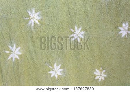 detailed patterns of  batik cloth the natural way for background