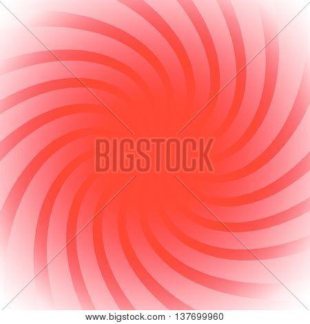 Spiral, Vortex Starburst, Sunburst Colorful Background. Easy To Edit, Only With 1 Color. (monochrome