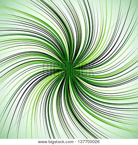 Spiral Background With Thin Radial Lines. Concentric, Circular Swirl, Twirl Pattern. Sunburst With R
