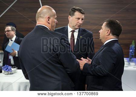 Stepan Poltorak And Raimonds Vejonis