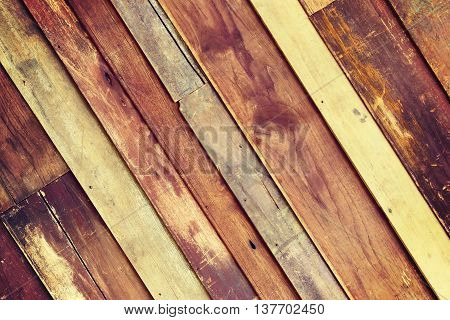 wooden wall background with black vignette borders
