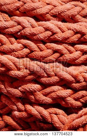 rope rope with beautiful texture