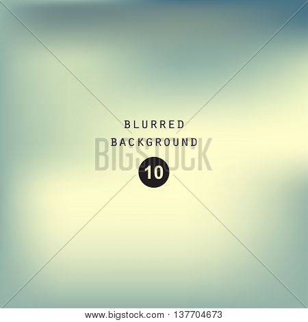 Blurred abstract gradient background for web presentations and prints. Blur image sky vector bright light effect holographic soft blurry cloud graphic design cover modern pattern blue mesh smooth website