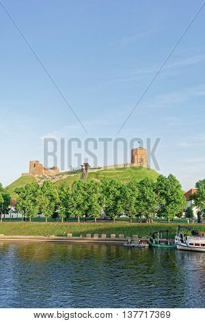 Upper Castle And Neris River