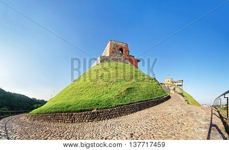 Upper Castle In Vilnius In Lithuania