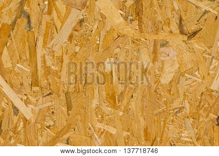 Pressed wood texture material used for construction