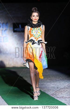 Fashion Week Zagreb : Mandali Mendrilla, Zagreb, Croatia.